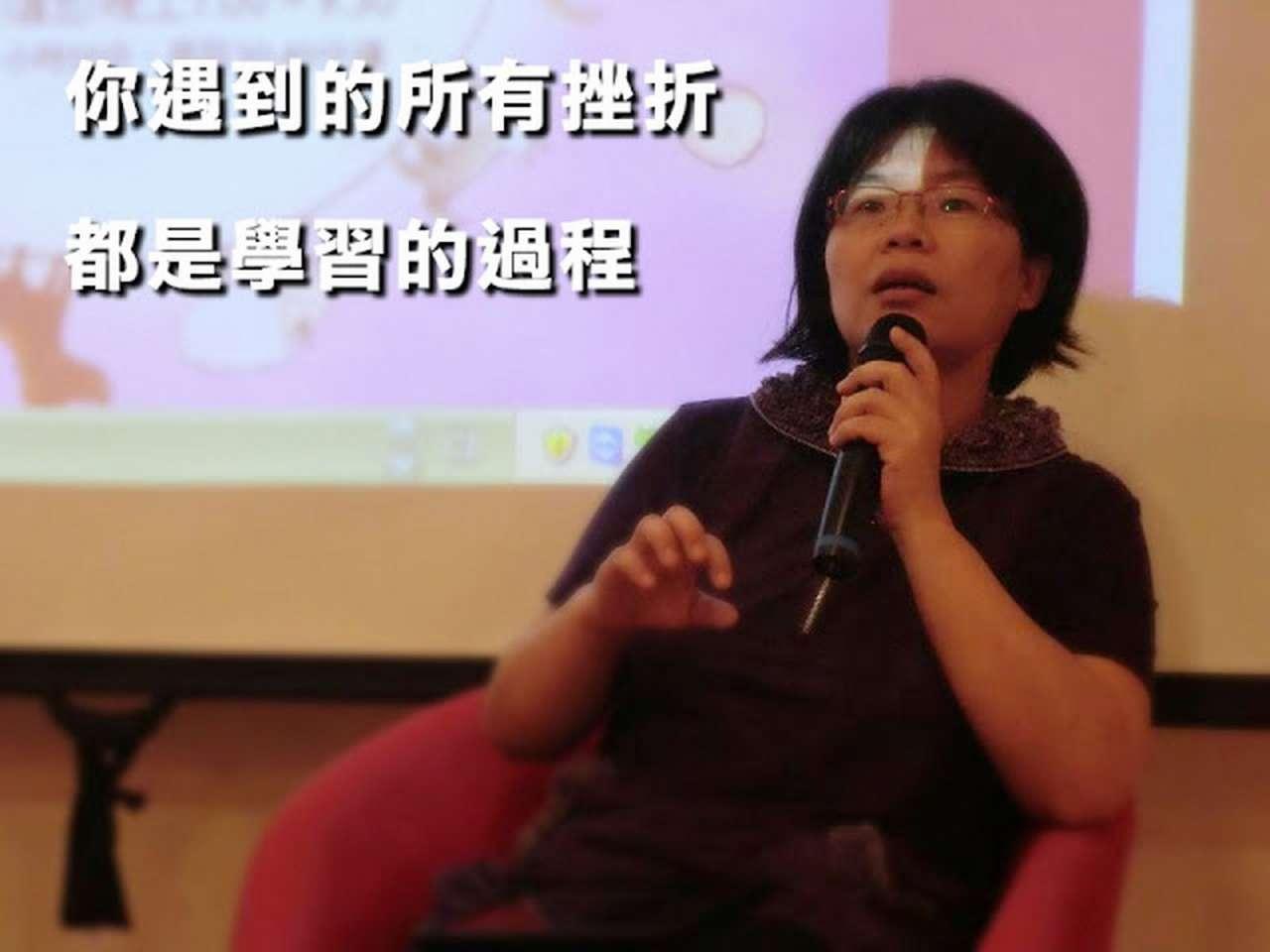 所有的挫折,都是學習的過程/專訪花蝶板橋國光影音租書館館長卓惠珠(花媽)