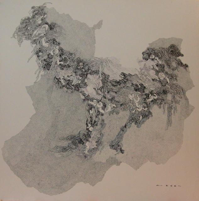 【七十二夢】陳佩歆-複媒彩墨創作個展