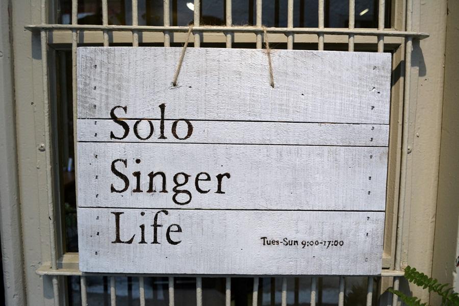 Solo Singer Life ─ 行到巷弄間,坐在寧靜間