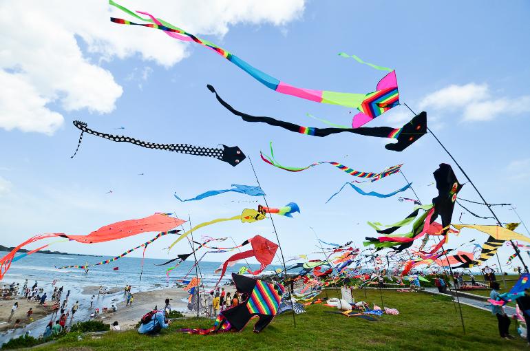 新北市國際風箏節:朱立倫證婚  風箏婚禮超浪漫!