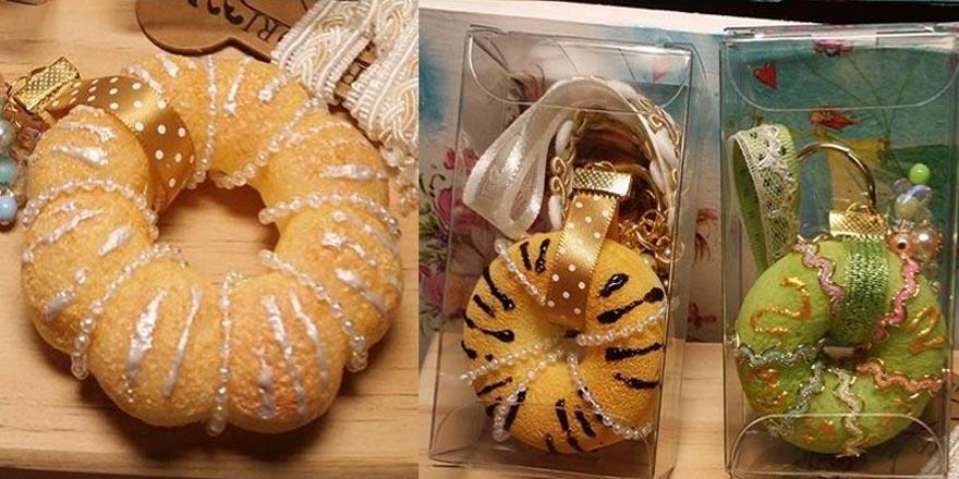 仿真甜甜圈課程-做一個看起來可以吃但不能吃的甜甜圈當飾品吧!