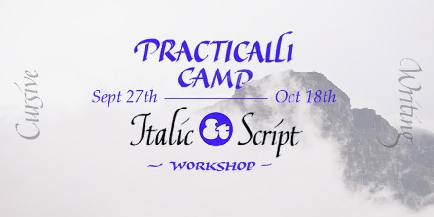 Practicalli Camp: 從書寫到文字設計 ─ Italic Script 工作坊