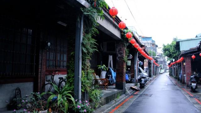 迪化街二段橫亙的閩南古厝
