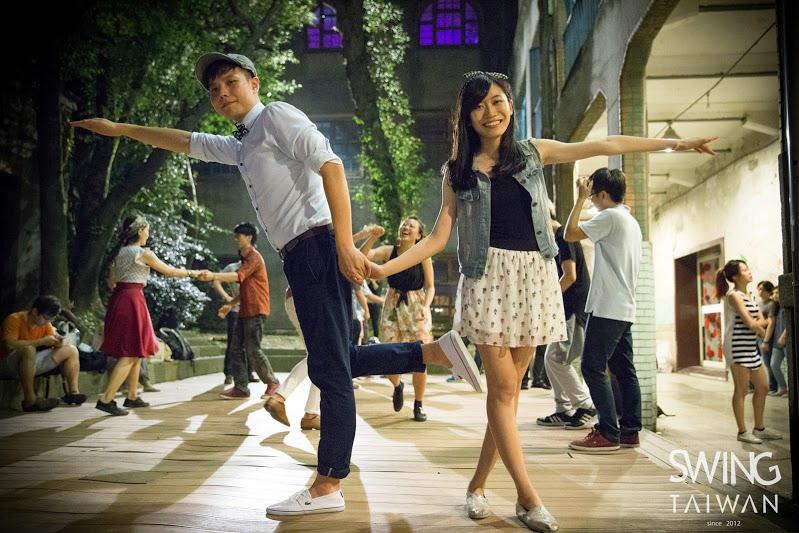 這是上世紀20年代的社交舞,但它在台灣掀起了流行