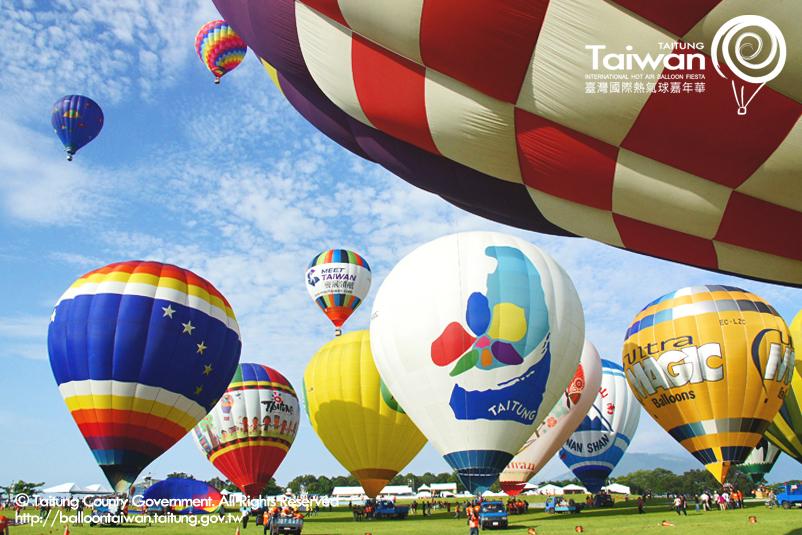 2015台灣國際熱氣球嘉年華登場,你準備起飛了嗎?