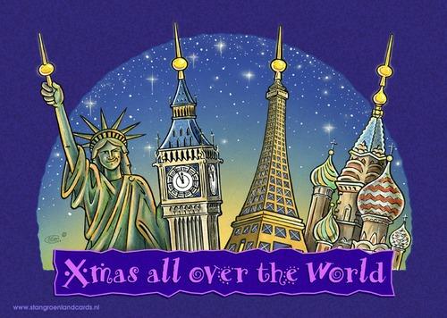 聖誕節的萬種面貌,世界各國的聖誕節!