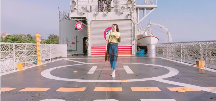 全台首座【海上博物館】退役德陽艦 成IG熱門景點!