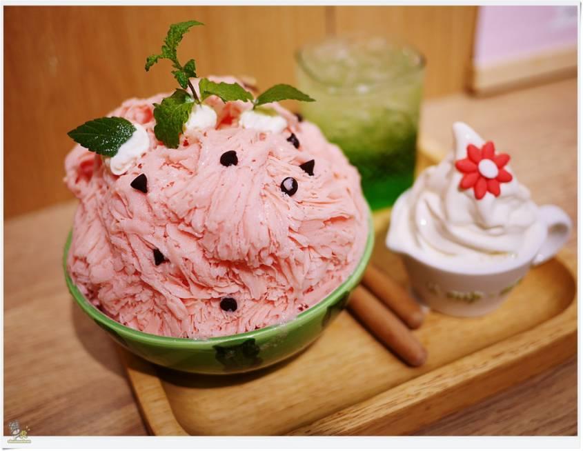 你吃過「西瓜雪花冰」嗎?板橋新開幕日系冰店 少女必朝聖!