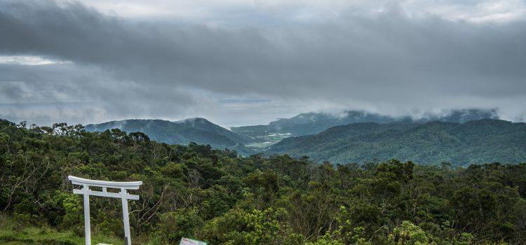 發現「高士山小神社」台灣山中最寧靜美麗的【白色鳥居】!