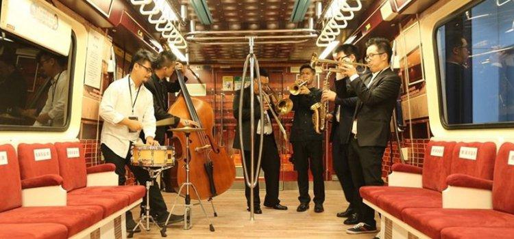 【車廂創意廣告】再一波!搭上「行動兩廳院藝文列車」在捷運裡就能享受音樂廳頭等艙!