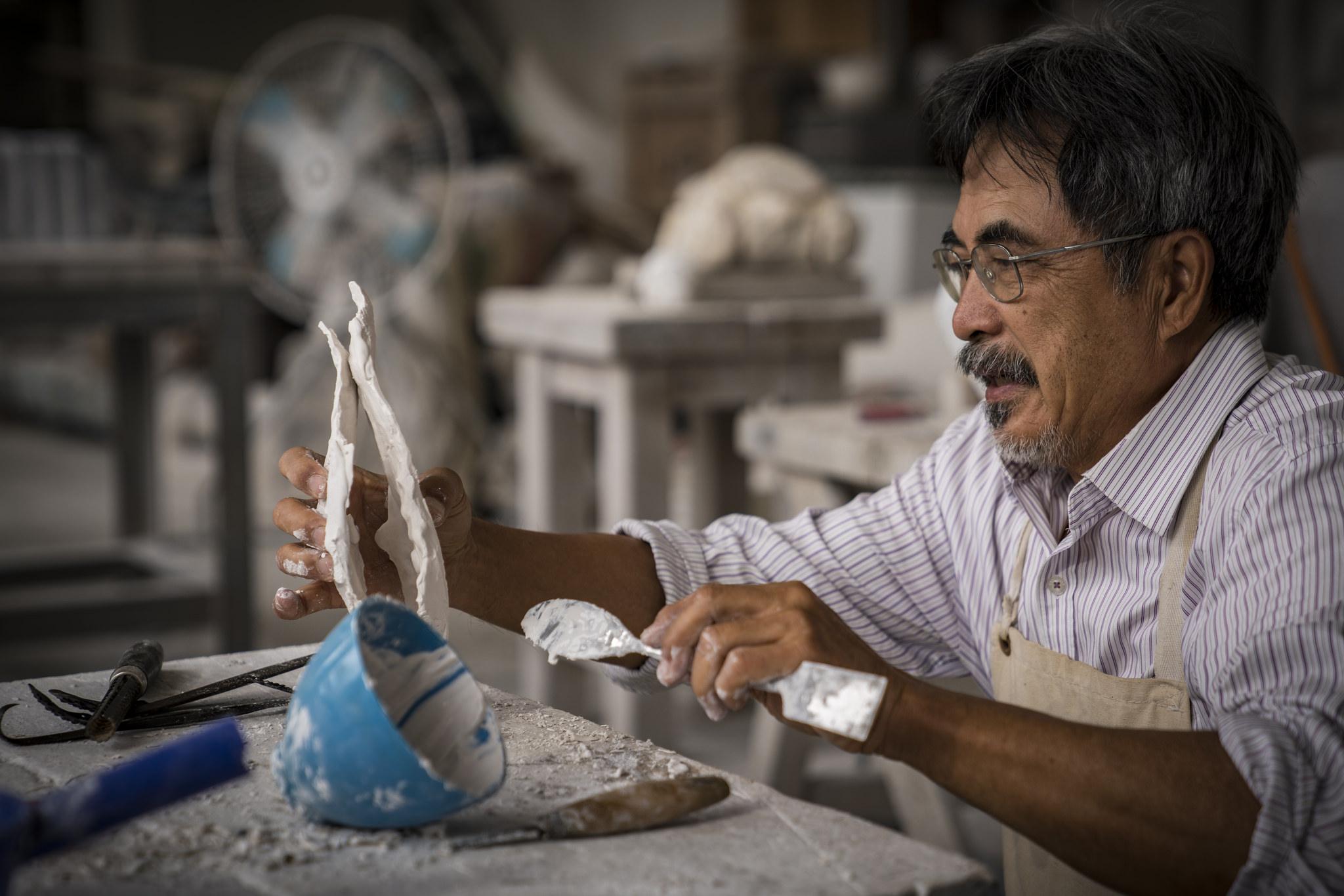 【台北文學獎20週年】專訪 雕塑家-黎志文。我們心中都有一顆「文學」種子等待萌芽