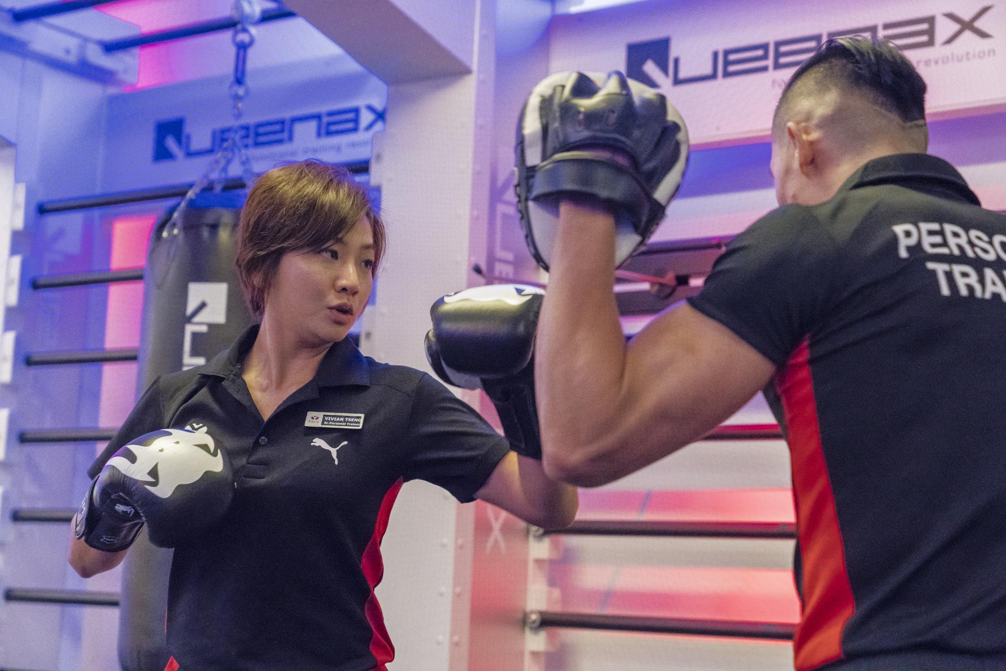 【生活誌專訪】TRUE YOGA.FITNESS教練 – Vivian。從民俗舞蹈轉戰拳擊,健身教練的華麗轉身!