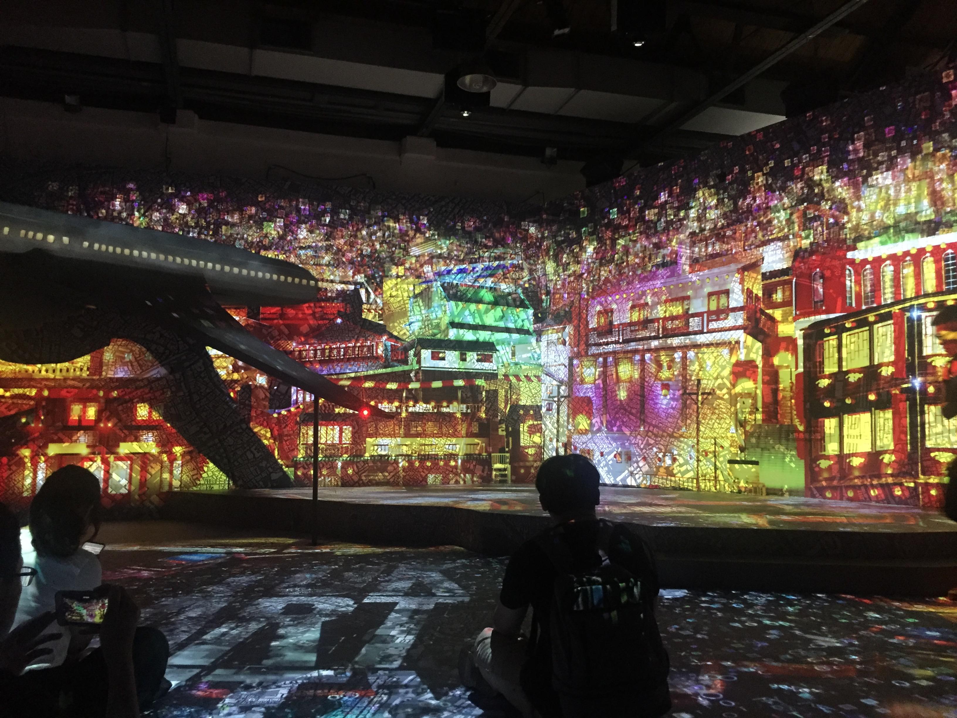 【光影東京】不只是網美展覽,還是沈浸式藝術體驗 – 淺談「光影東京特展」