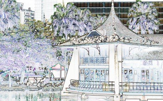 【Sketchwalk C】走訪柳原教會與臺中公園,聆聽他倆訴說臺中的百年變遷