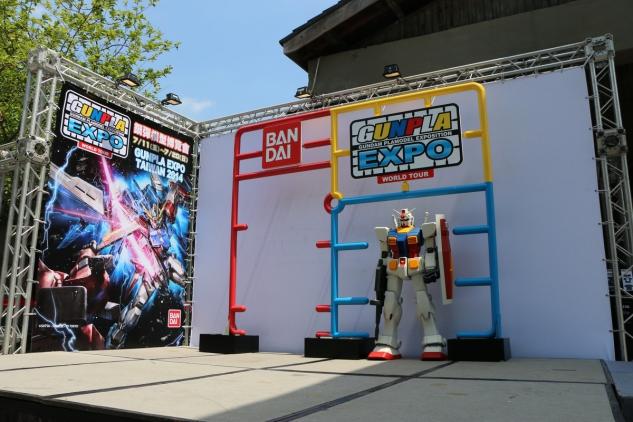 「GUNPLA EXPO TAIWAN」鋼彈模型展於松山文創園區熱烈開幕