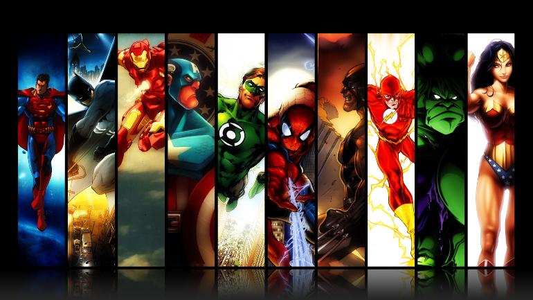 萬聖節系列特輯:那些我們曾在萬聖節扮過的8個超級英雄