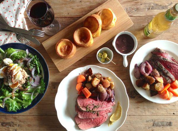 料理聖誕節大餐:自製英式烤牛肉 Sunday Roast