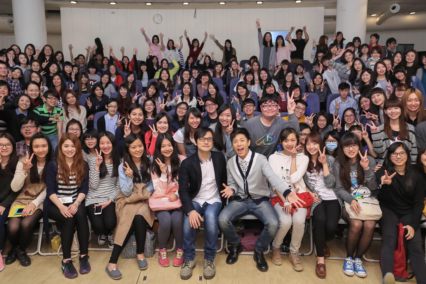 金曲獎系列活動前進校園講座:韋禮安&陳建騏