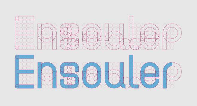【Ensouler 安所樂設計展】標準字體與色彩 ─ 主視覺的誕生