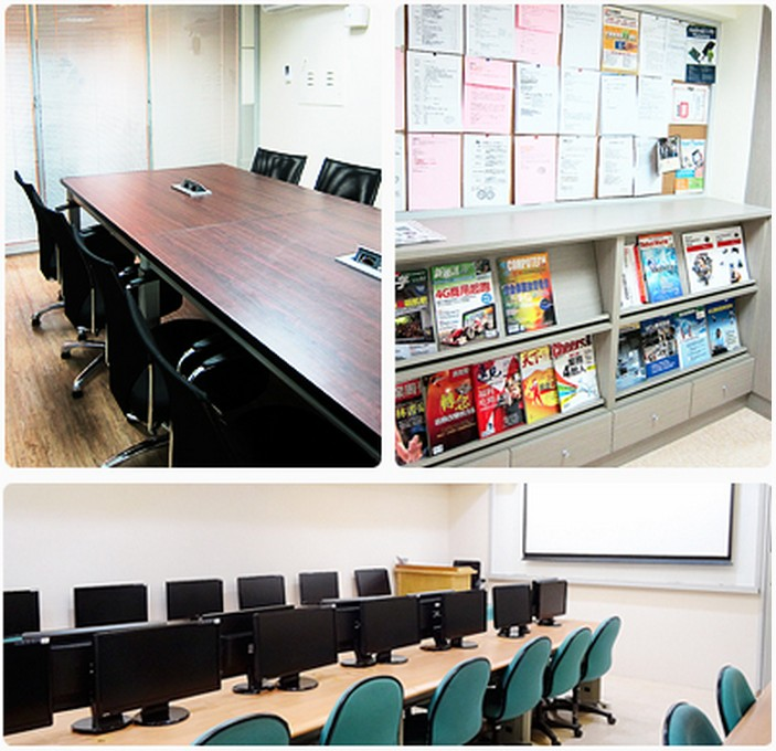 艾鍗學院:數位化教室會議廳