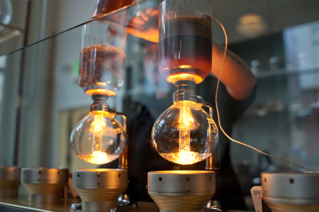 Blue Bottle Siphon Bar