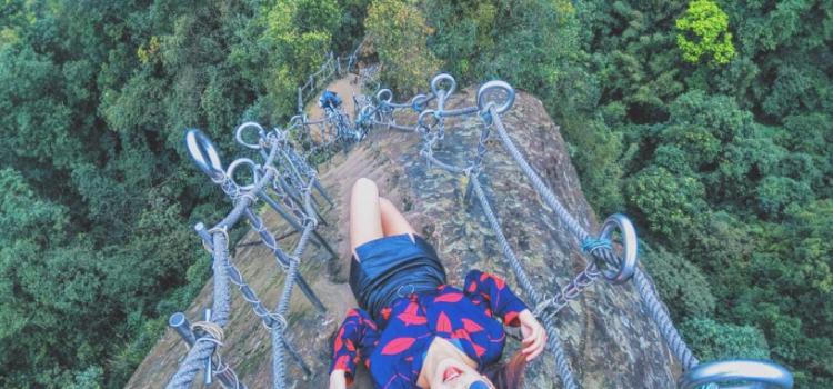 【單身青春不留白】北台灣登山首選「10座超人氣天然岩場」越刺激人氣越高!