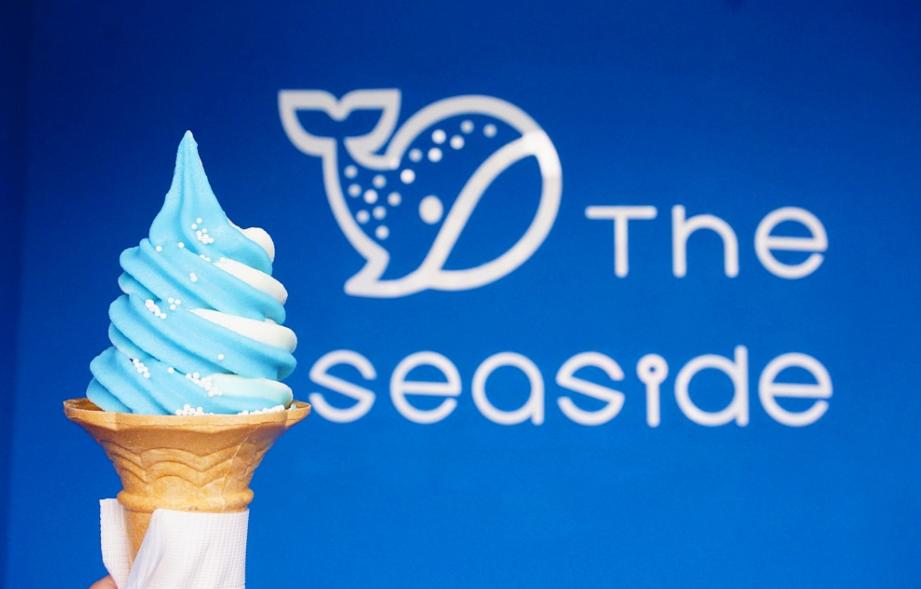 大阪「鯨鯊霜淇淋」台灣也吃得到!夢幻藍白配色 超好拍!