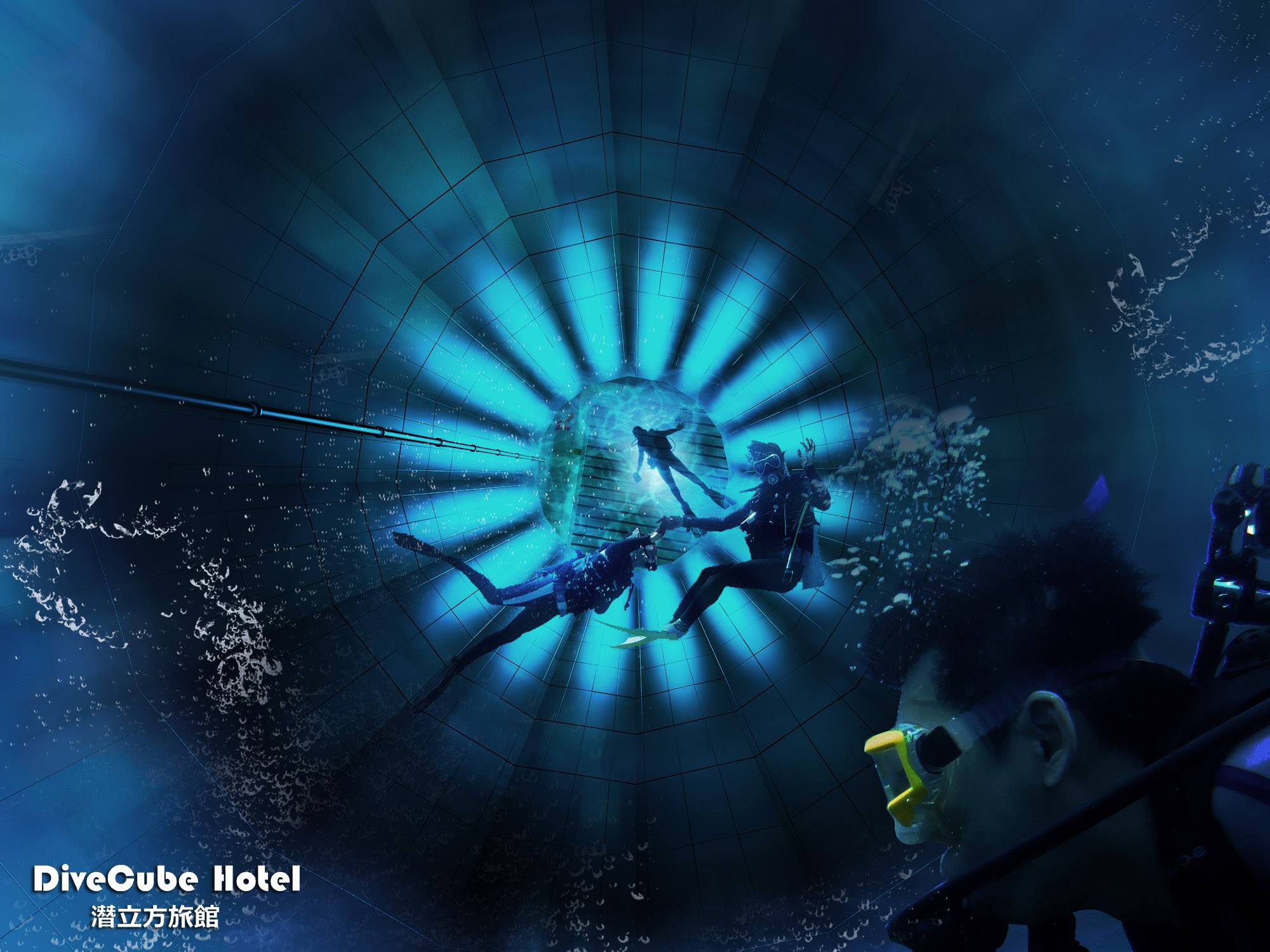 室內也能潛水?亞洲首座「潛水飯店!」到台中「潛立方」體驗深海潛水的悠遊樂趣!