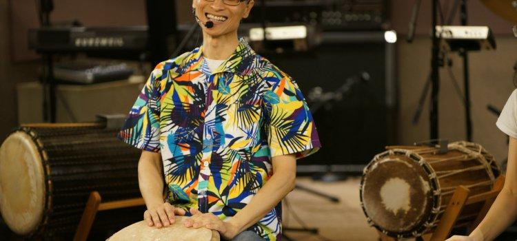 【Accupass活動人物誌】都市中的非洲鼓手 – 趙偉竣。在每次打擊下,感受最原始的生命脈動!