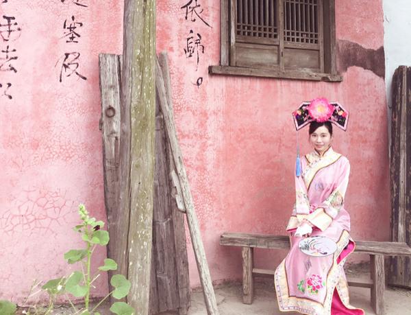 彷彿走進【古裝劇】!台南「老塘湖藝術村」復古風情讓你一秒變格格!
