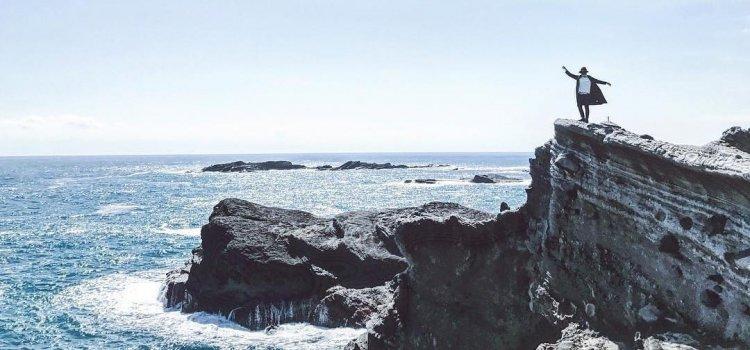 來張「激流照」到IG熱門景點【緩慢石梯坪】眺望太平洋的精采瞬間!