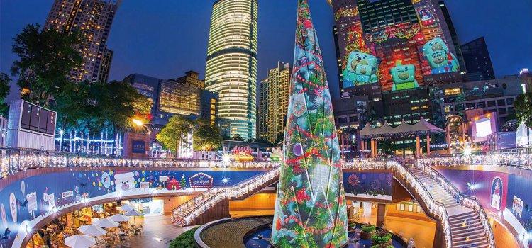 【聖誕特輯】2017板橋「新北耶誕城」華麗升級全攻略。超狂「藍色時光隧道」席捲少女心!