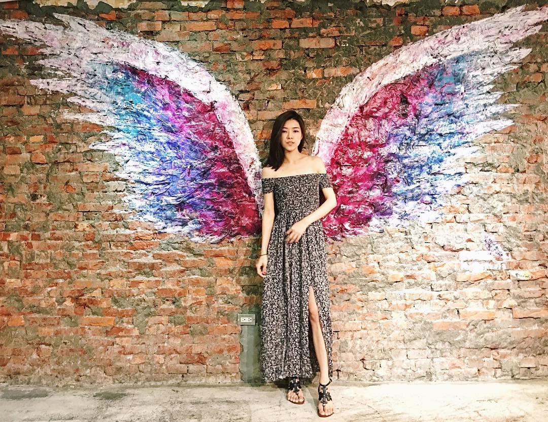 【Insta-Worthy】「天使之翼」走遍世界踏進台灣,網紅牆打卡同時傳遞愛與和平!