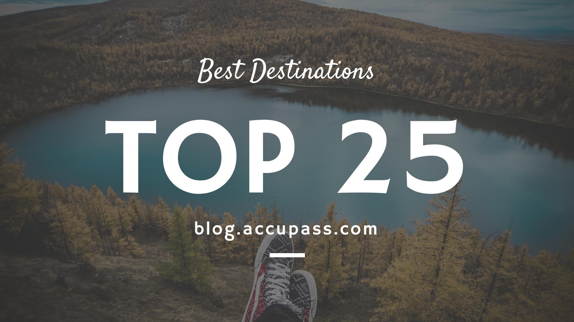 【出國必看】全世界 Top 25 旅遊勝地(上),全球最大旅遊網站 TripAdvisor 掛保證!