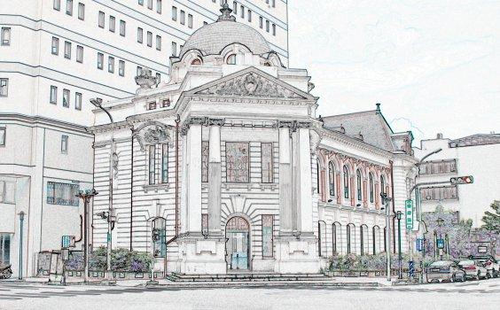 【Sketchwalk B】從磚造辰野建築到木屋街區,臺中州廳線帶你走訪日式建築深度遊
