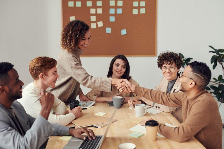 職場內的團隊合作